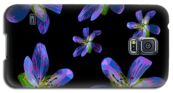 Study Of Seven Flowers #6 Galaxy S5 Case