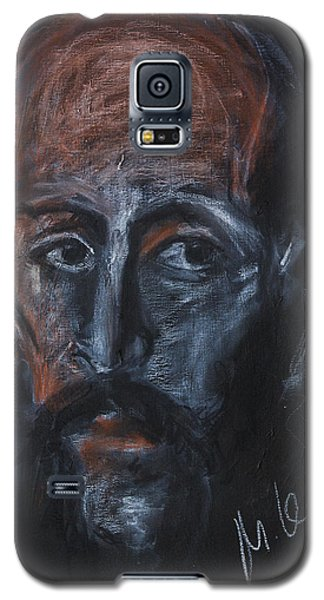 Study Of The Male Face Galaxy S5 Case