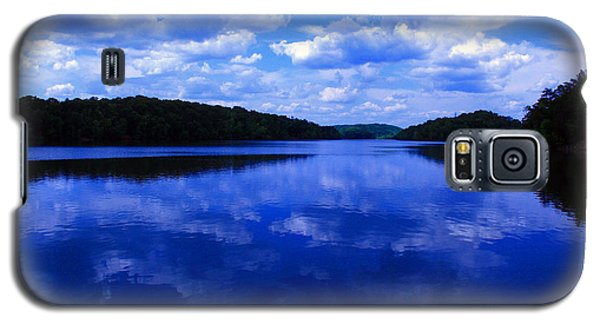 Galaxy S5 Case featuring the photograph Stumpy Pond 04a by Andy Lawless