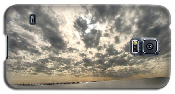 Galaxy S5 Case featuring the photograph Stunning Coastal Sunrise by Linda Cox
