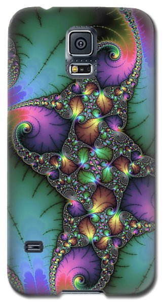 Stunning Mandelbrot Fractal Galaxy S5 Case
