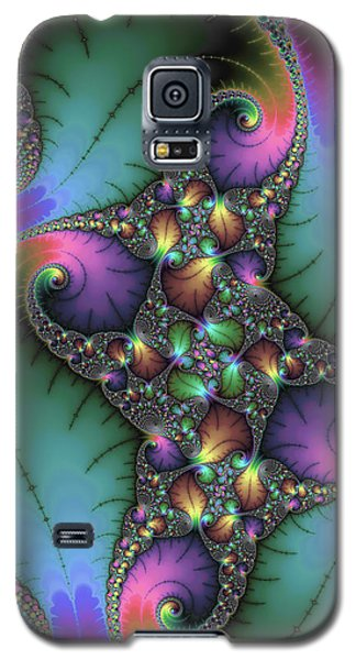 Stunning Mandelbrot Fractal Galaxy S5 Case by Matthias Hauser