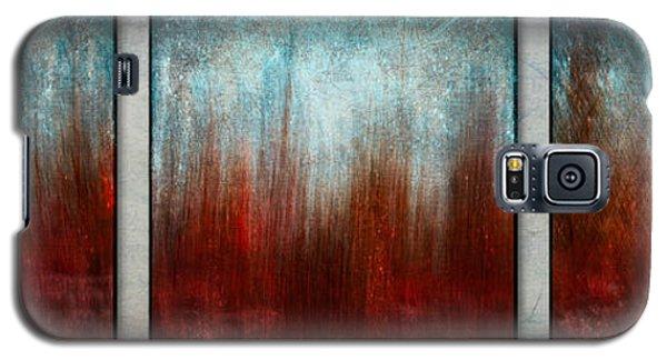 Stylized Beach Grasses Galaxy S5 Case