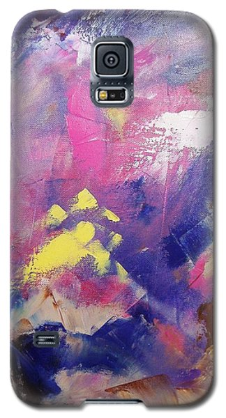 Galaxy S5 Case featuring the painting Subconsciously by Nina Mitkova