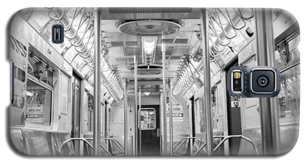 New York City - Subway Car Galaxy S5 Case
