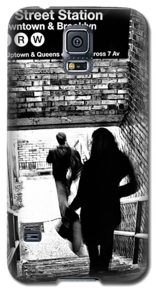 Subway Shadows Galaxy S5 Case by Karol Livote
