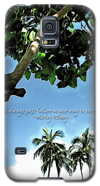 Success And Failure Botanical Inspiration Galaxy S5 Case
