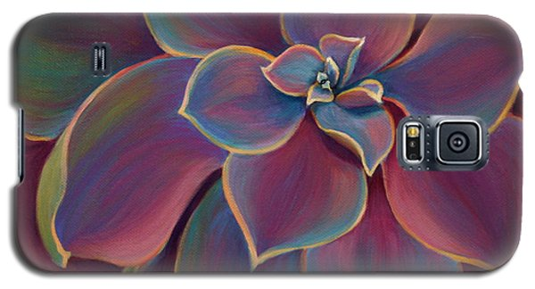 Galaxy S5 Case featuring the painting Succulent Delicacy by Sandi Whetzel