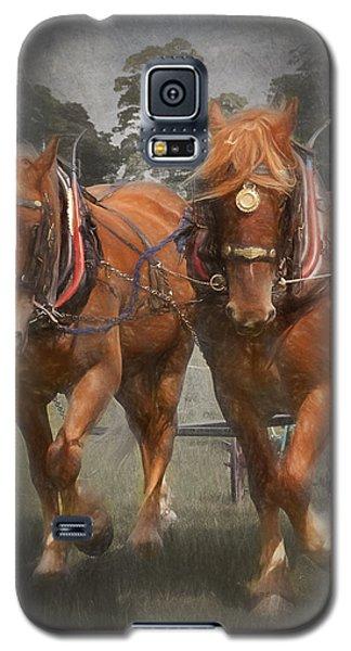 Suffolk Punch Galaxy S5 Case by Ian Merton