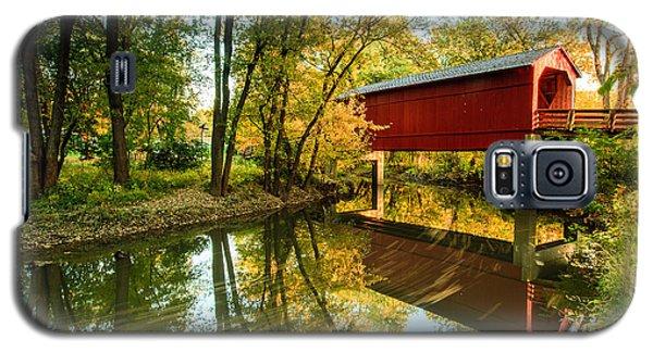 Sugar Creek Covered Bridge Galaxy S5 Case