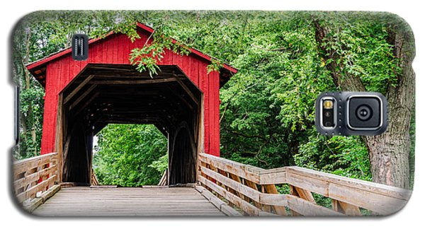 Sugar Creek Covered Bridge Galaxy S5 Case