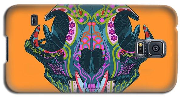 Galaxy S5 Case featuring the digital art Sugar Lynx  by Nelson dedos Garcia