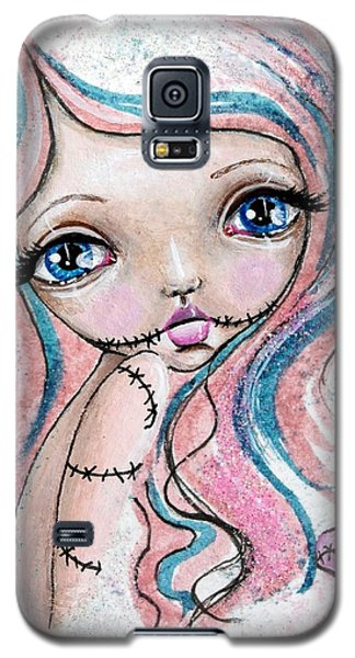 Sugar Spun Zombie Galaxy S5 Case by Lizzy Love of Oddball Art Co