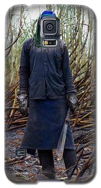 Galaxy S5 Case featuring the photograph Sugarcane Slash by Henry Kowalski