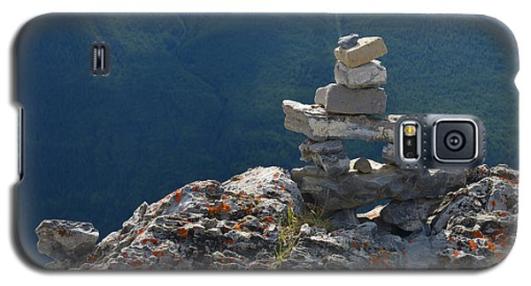 Galaxy S5 Case featuring the photograph Sulfur Mt Banff by Yue Wang
