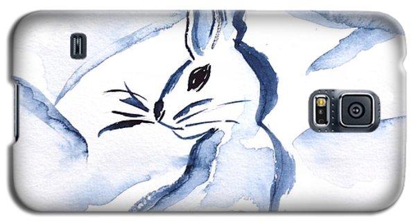 Sumi-e Snow Bunny Galaxy S5 Case