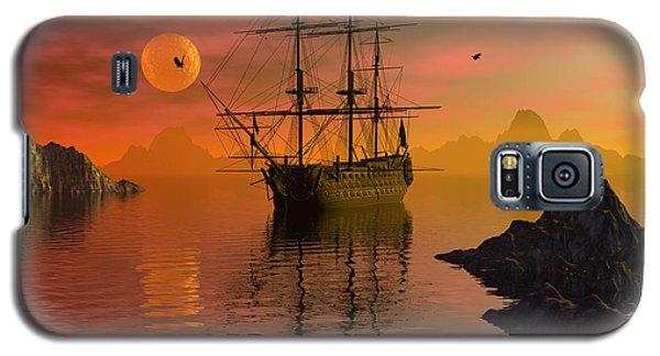 Summer Anchorage Galaxy S5 Case