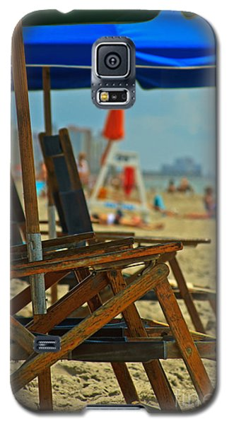 Summer At The Beach Galaxy S5 Case