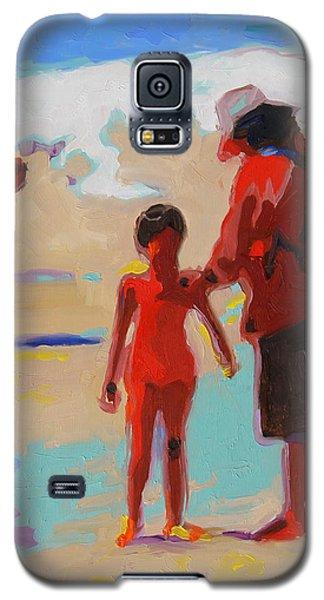 Summer Beach Play Galaxy S5 Case