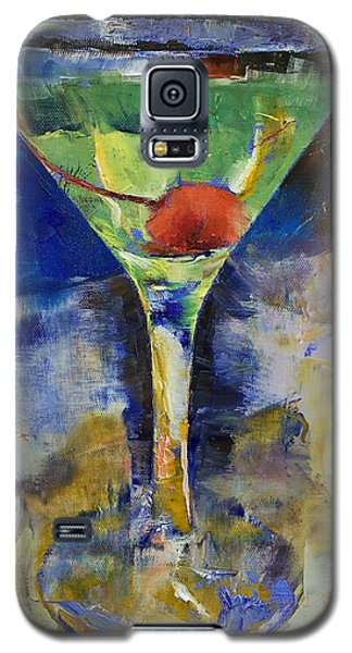 Summer Breeze Martini Galaxy S5 Case by Michael Creese