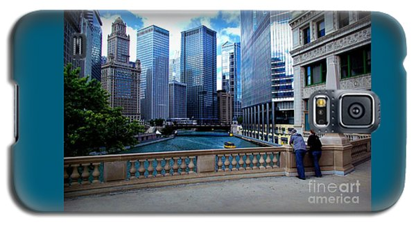 Summer Breeze On The Chicago River - Color Galaxy S5 Case