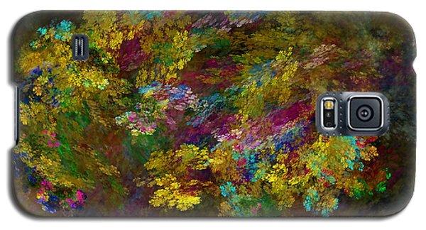 Galaxy S5 Case featuring the digital art Summer Burst by Olga Hamilton