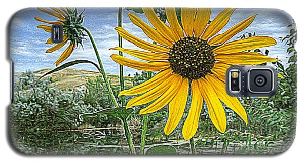 Summer By The Pond Galaxy S5 Case