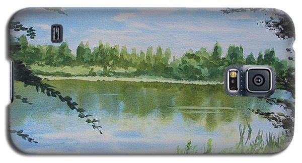 Summer By The River Galaxy S5 Case by Martin Howard
