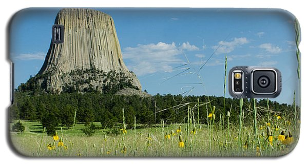 Summer Day At Devils Tower Galaxy S5 Case