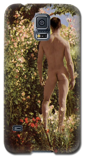 Summer Day In The Garden   Galaxy S5 Case
