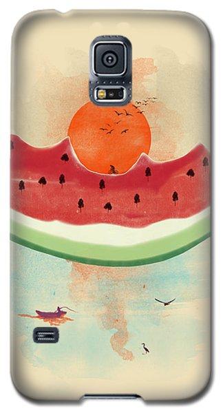Watermelon Galaxy S5 Case - Summer Delight by Neelanjana  Bandyopadhyay