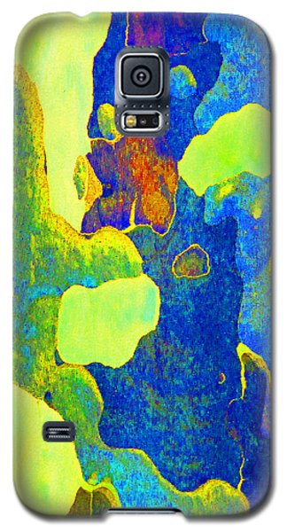 Galaxy S5 Case featuring the photograph Summer Eucalypt Abstract 14 by Margaret Saheed