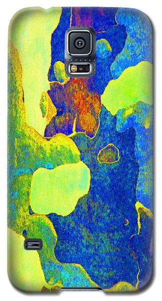 Summer Eucalypt Abstract 14 Galaxy S5 Case