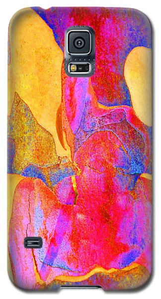 Galaxy S5 Case featuring the photograph Summer Eucalypt Abstract 24 by Margaret Saheed