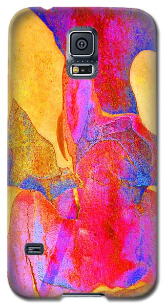 Summer Eucalypt Abstract 24 Galaxy S5 Case