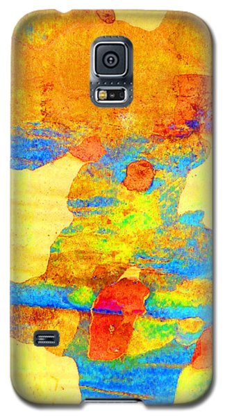 Galaxy S5 Case featuring the photograph Summer Eucalypt Abstract 25 by Margaret Saheed
