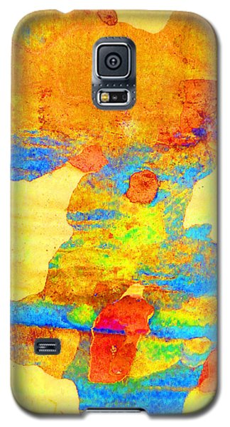 Summer Eucalypt Abstract 25 Galaxy S5 Case