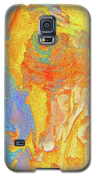 Galaxy S5 Case featuring the photograph Summer Eucalypt Abstract 3 by Margaret Saheed