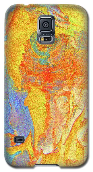 Summer Eucalypt Abstract 3 Galaxy S5 Case