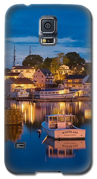 Summer Evening On Boothbay Harbor Galaxy S5 Case