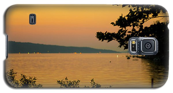 Summer Evening On Cayuga Lake Galaxy S5 Case