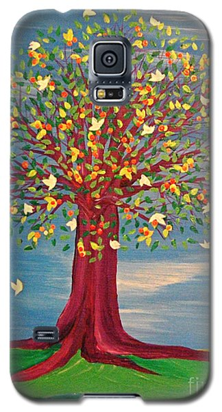 Summer Fantasy Tree Galaxy S5 Case