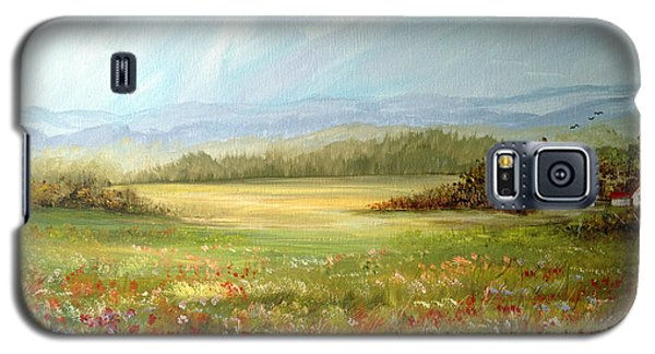 Summer Field At The Farm Galaxy S5 Case by Dorothy Maier