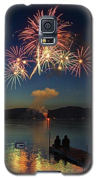 Summer Fireworks Galaxy S5 Case