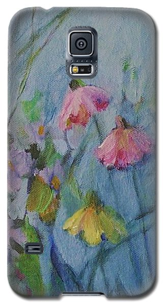 Summer Flower Garden Galaxy S5 Case