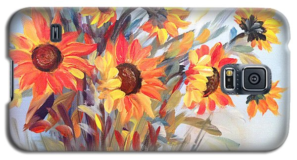 Summer Flowers Galaxy S5 Case by Dorothy Maier
