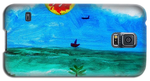 Summer Fun Galaxy S5 Case by Artists With Autism Inc