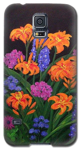 Summer Garden Galaxy S5 Case
