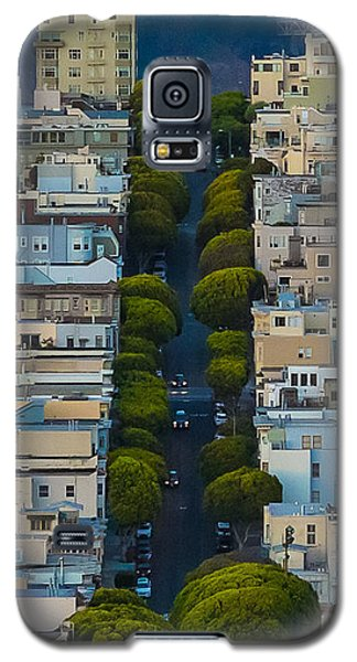 Summer Green On Lombard Street Galaxy S5 Case