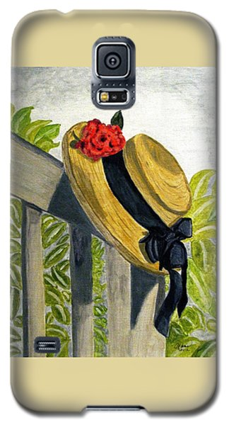 Summer Hat Galaxy S5 Case by Angela Davies